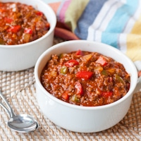 Harlem Meatloaf Chili #SundaySupper