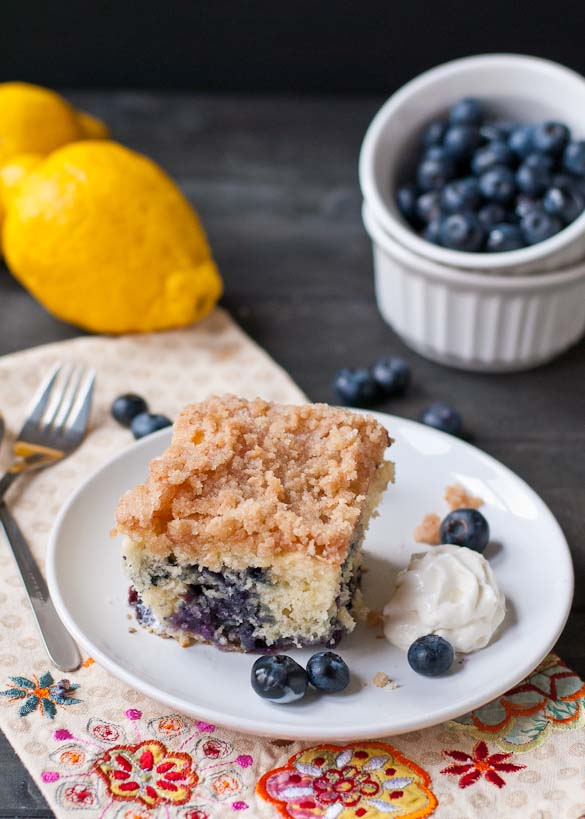 Blueberry Buckle Coffee Cake | Neighborfoodblog.com
