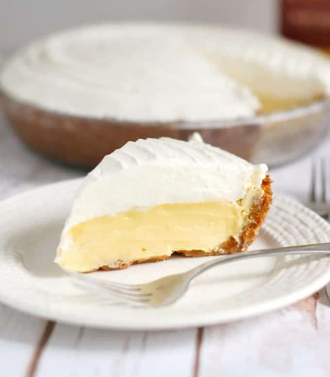 Slice of Margarita Pie