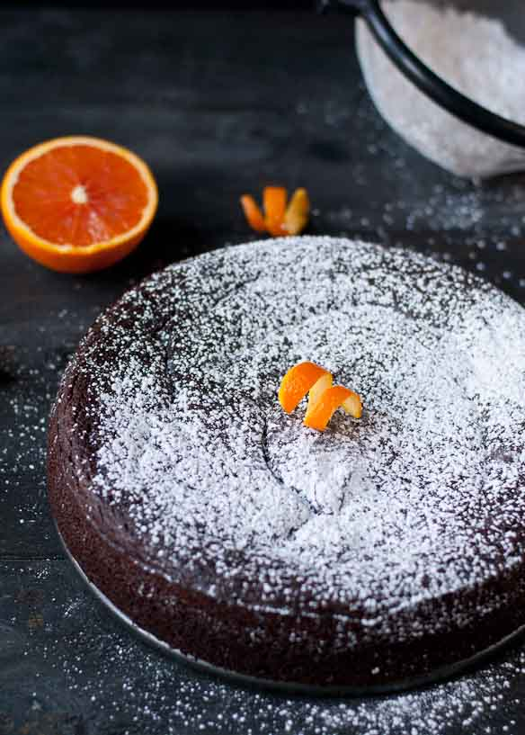 Nigella's Flourless Chocolate Orange Cake | Neighborfoodblog.com