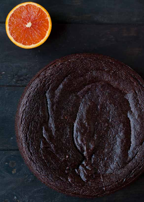 Flourless Chocolate Orange Cake | Neighborfoodblog.com