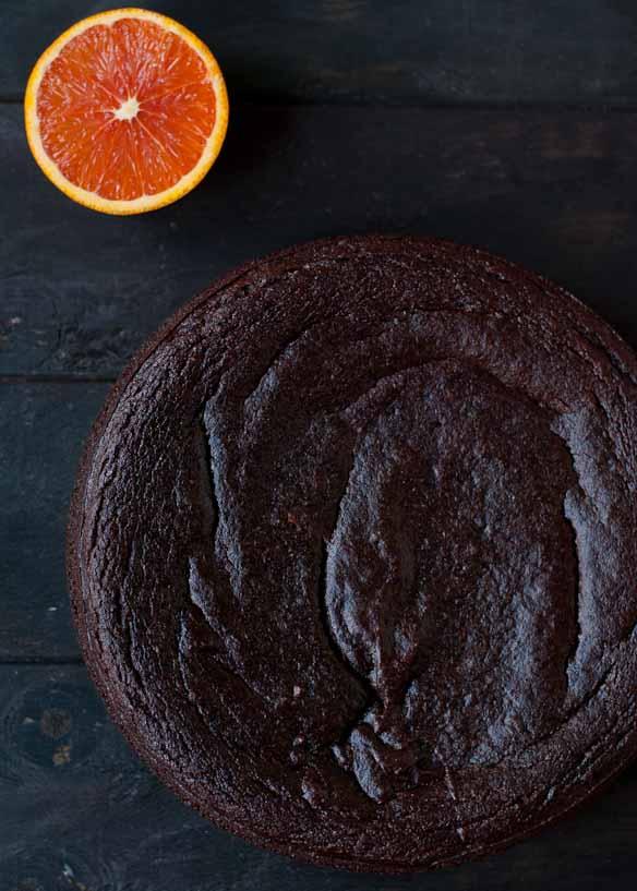 Flourless Chocolate Orange Cake | Neighborfoodblog.com