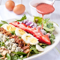 strawberry cobb salad