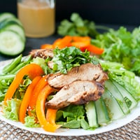Asian Sesame Chicken Salad thumbnail