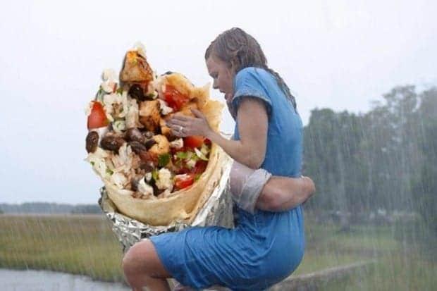 burrito love scene