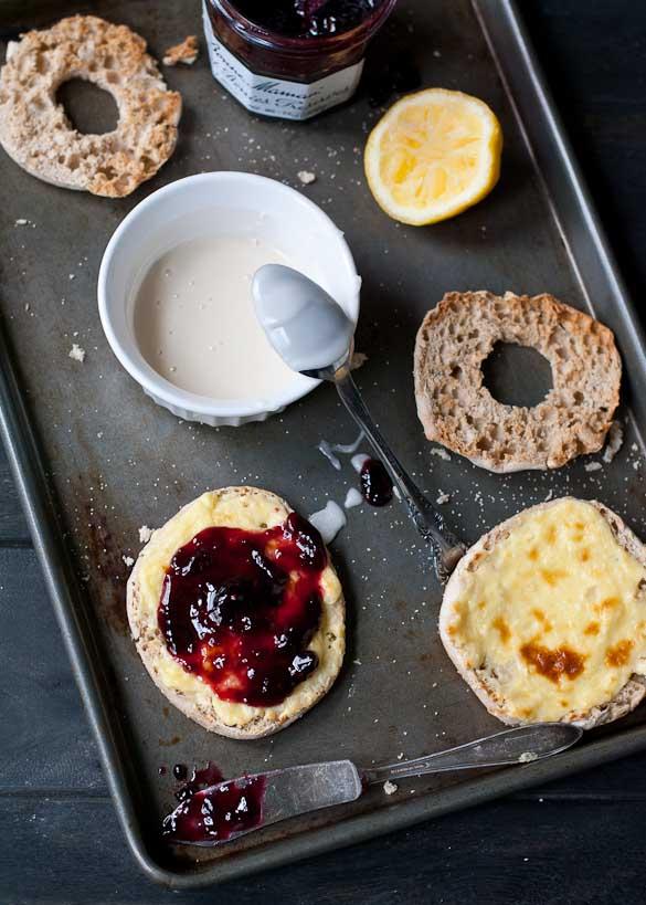 10 Minute English Muffin Berry Cream Cheese Danish | Neighborfoodblog.com
