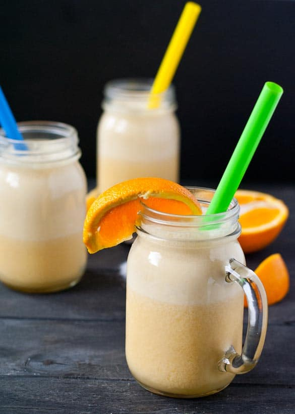Orange Julius- Made in 5 minutes and tastes just like the original!