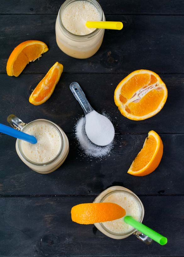 Orange Julius- A 5 minute blender treat that's perfect for a hot summer day.