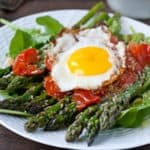 Warm Asparagus and Tomato Salad