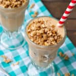 Peach Crisp Smoothie