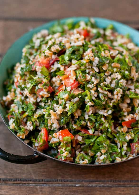 This Tabbouleh Salad is a fresh and light summer side dish.