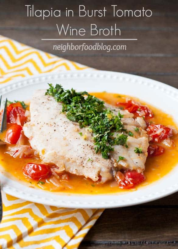 This light and fresh tilapia dish comes together in less than 30 minutes.