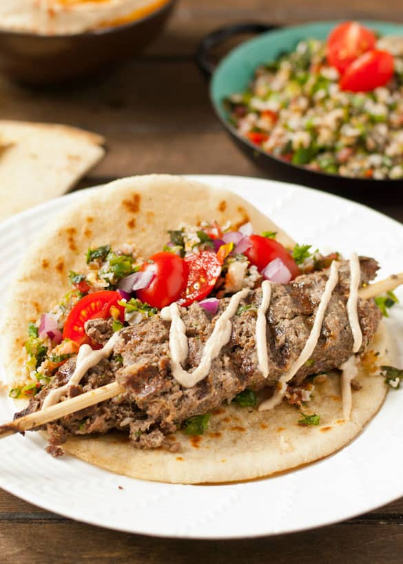 Beef Kafta makes a great budget friendly meal the whole family will love.