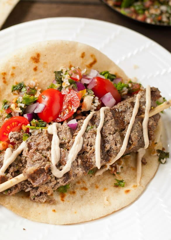 Beef Kafta- The fresh, warmly spiced, Mediterranean cousin of meatloaf. Give it a try!