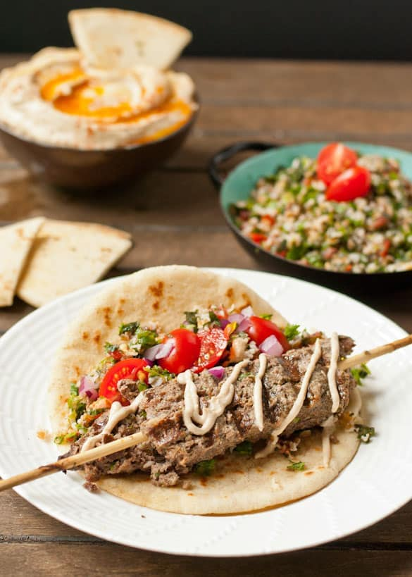 Tired of boring ground beef? Spice it up with this easy Beef Kafta!