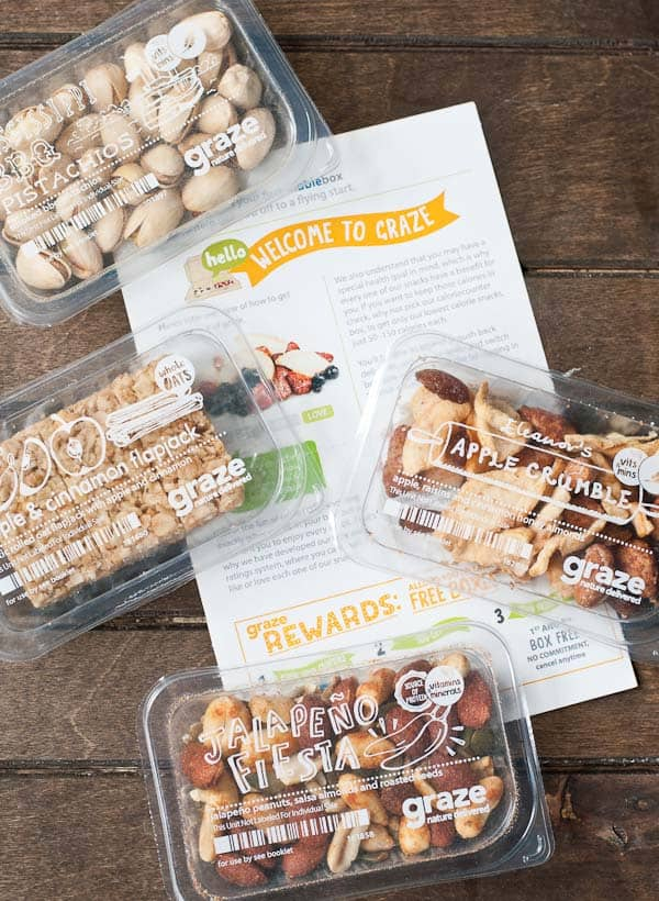 Graze Box Review- Nutritious snacks delivered to your door!