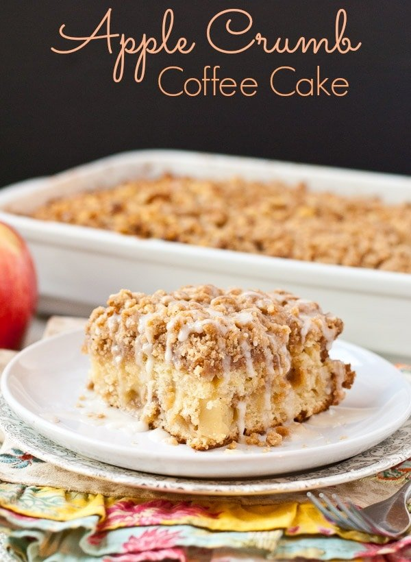 This Apple Crumb Coffee Cake is the perfect breakfast to ease into ...