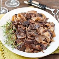 Slow Cooker Rosemary and Mushroom Pot Roast