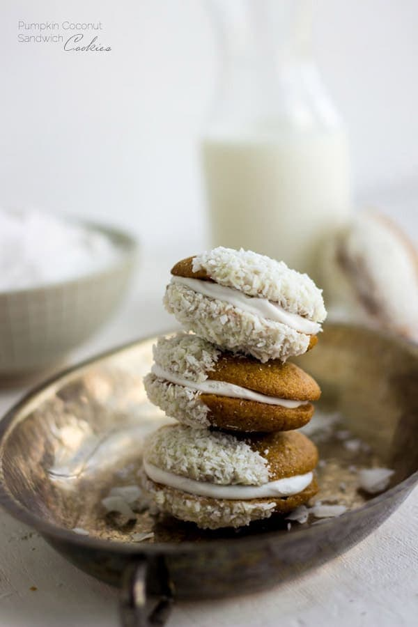Pumpkin-Coconut-Cookie-Sandwiches-foodfaithfitness-6tablespoons