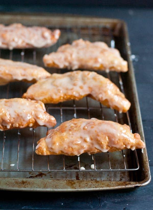 Glazed Amish Apple Fry Pies are a special fall treat!