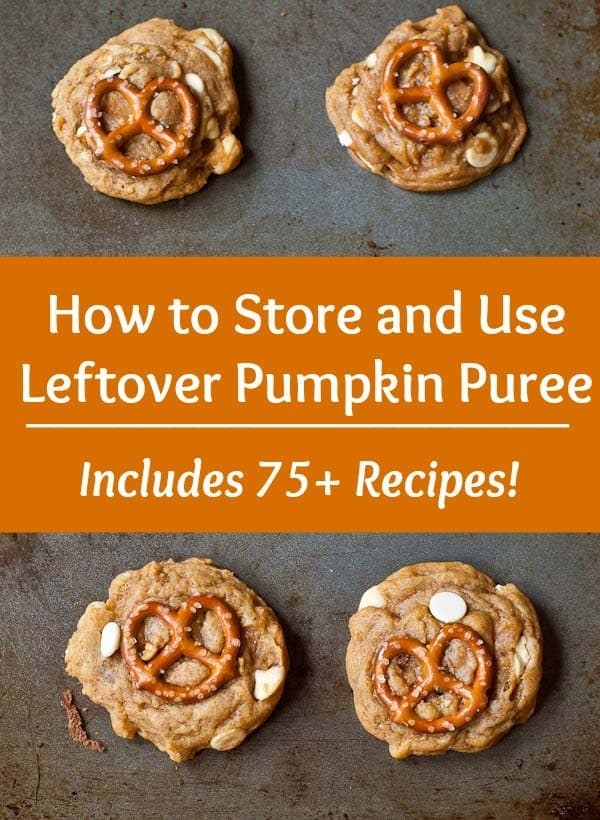 Don't know what to do with that leftover pumpkin puree? This post will tell you how to store it and give you recipes to use up every last drop!