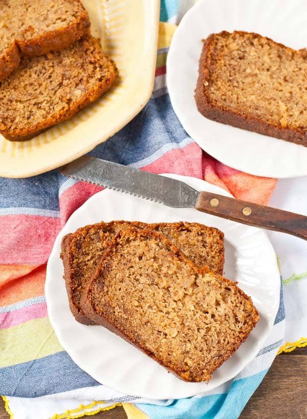 If you're looking for a classic go-to banana bread, this sour cream version is the one for you!