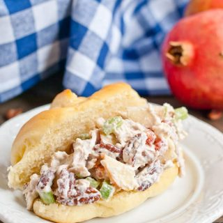 Cranberry Apple Pecan Chicken Salad