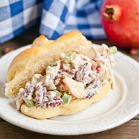Apple Pecan Chicken Salad #SundaySupper