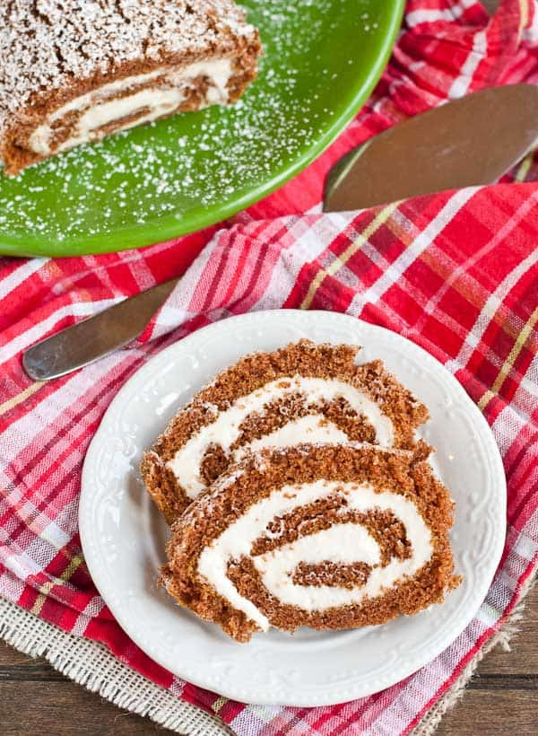 This Pumpkin Pinwheel is swirled with extra cream cheese filling. Your guests will love it!