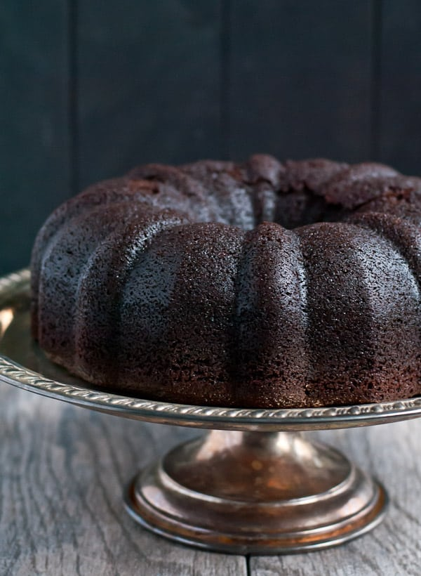 Dark Chocolate Snowball Bundt Cake | NeighborFood