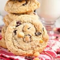 GF Cranberry Macadamia Nut Cookies