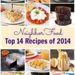 NeighborFood's Top 14 Recipes of 2014