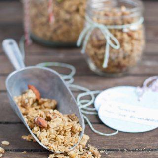 Savory Parmesan Ranch Granola