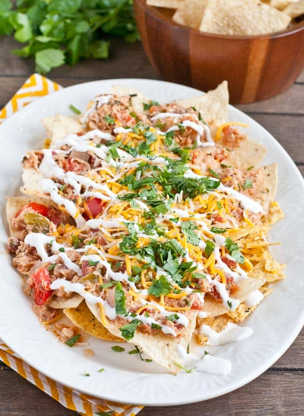 Slow Cooker Spicy Chicken Nachos Recipes — Dishmaps
