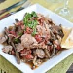 Slow Cooker Mediterranean Chicken Thighs