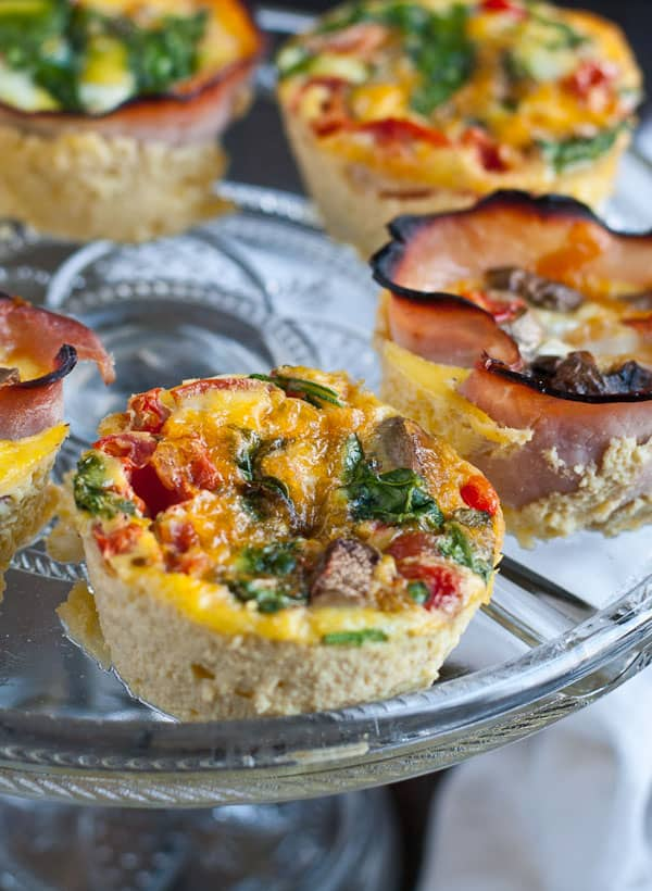 Baked Egg Cups- Gluten Free Breakfast from Neighborfoodblog.com