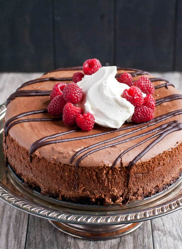 Chocolate Cheesecake Recipe via NeighborFood