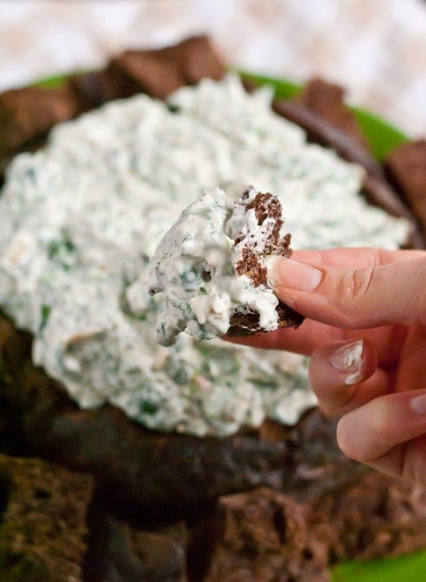 Spinach Dip Recipe via Neighborfoodblog.com