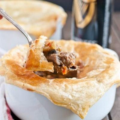 Guinness Beef Pot Pie via Neighborfoodblog.com