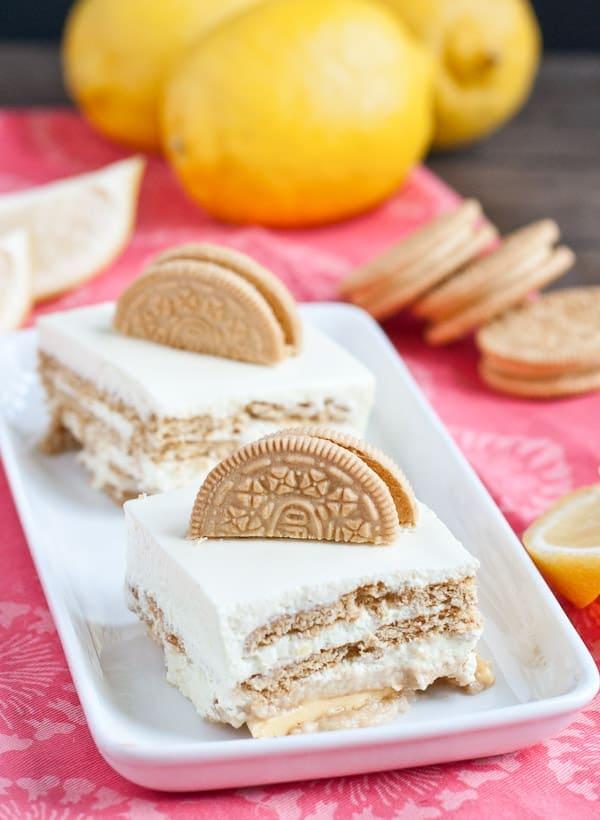 Lemon Oreo Jello Mousse Cake Neighborfood