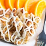 Orange French Toast Casserole with Cream Cheese Frosting