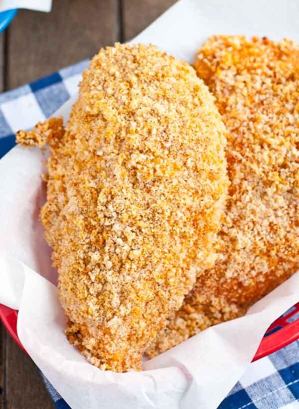 Panko Oven Fried Chicken Breast | NeighborFood