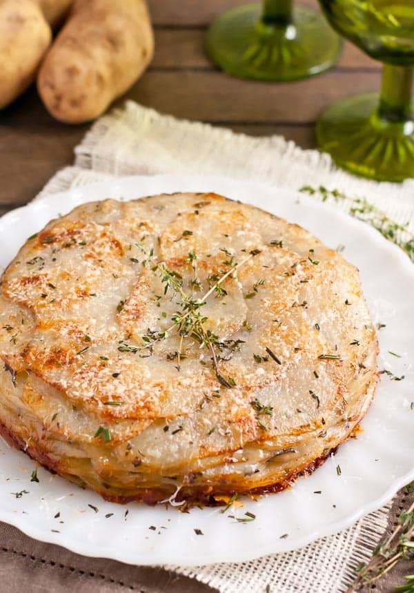 Potatoes Anna Recipe | Neighborfoodblog.com