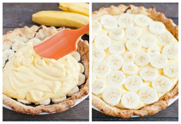 Chocolate Banana Cream Pie  | NeighborFoodBlog.com