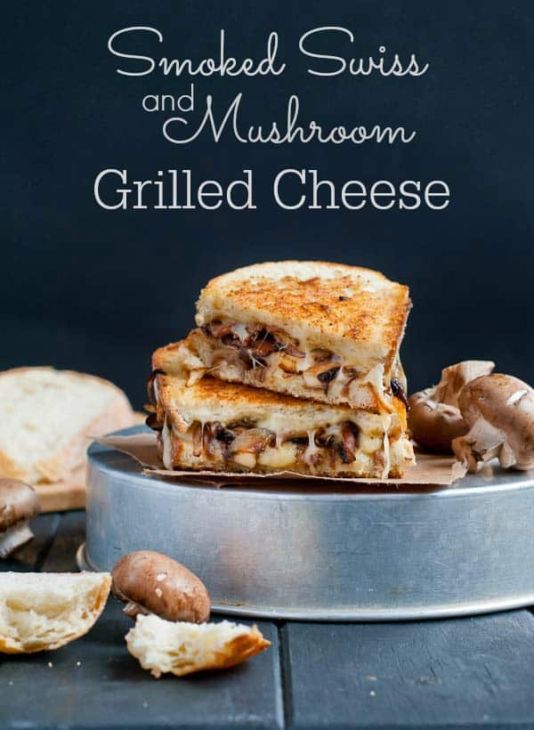 This Smoked Swiss and Mushroom Grilled Cheese is an easy weeknight meal that's packed with flavor.
