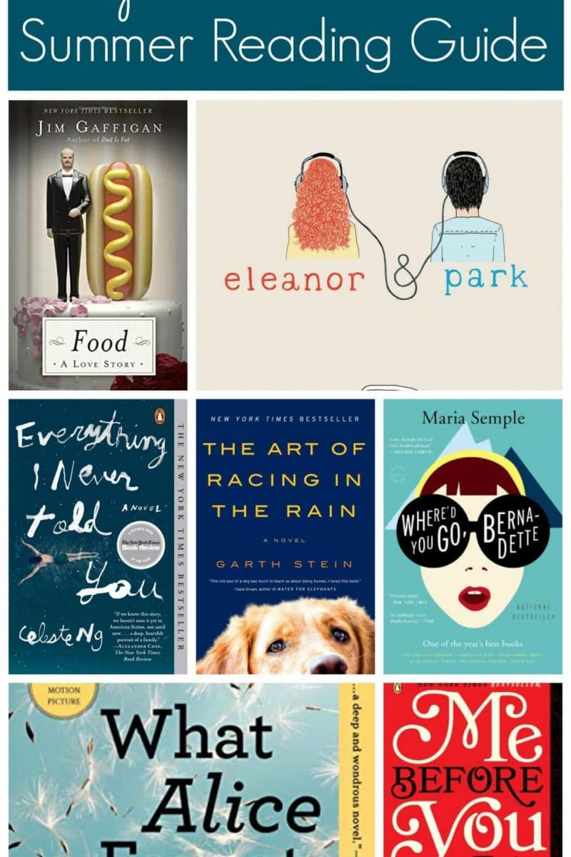 The 2015 Summer Reading Guide