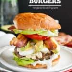Cobb Salad Burgers