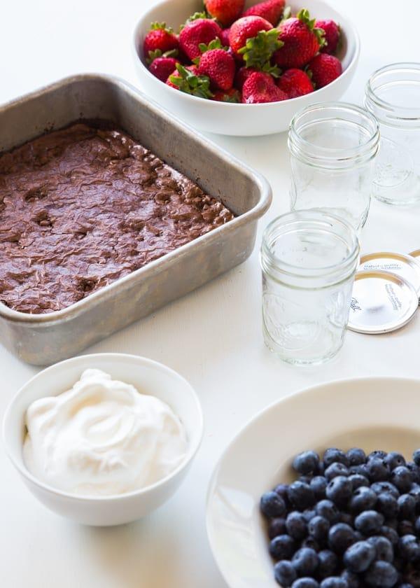 Brownie Berry Parfait  (1 of 6)