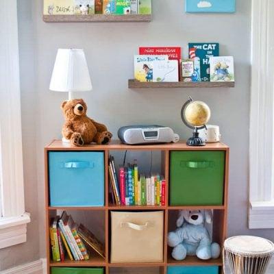 DIY Nursery Reading Nook | NeighborFood
