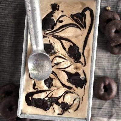 Coffee and Donut Ice Cream